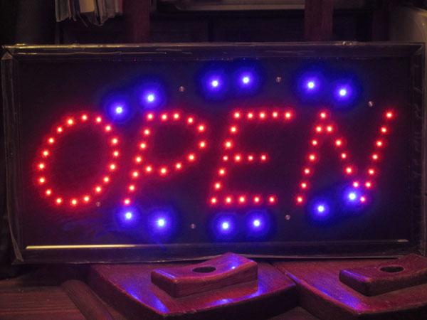 LEDサインボードを作ってみました